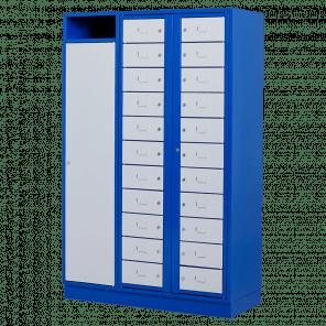 Kast voor wasgoed schoon & vuil - 22 vaks - deur - WKP-102