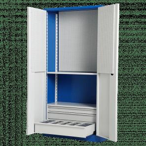 Werkplaatskast met laden - 3 laden - 200x100x45 cm - GMP-602
