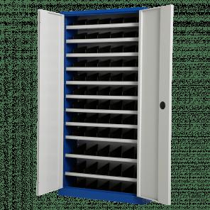 Vakkenkast met deuren - 198x100x30 cm - OMP-301