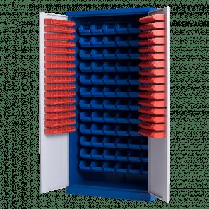 Bakkenkast met deuren - 152 bakken - 199x100x43,5 cm - GWP-308