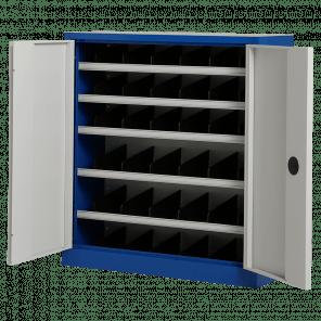 Vakkenkast met deuren - 108x100x30 cm - OMP-302