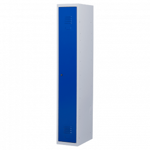 Lockerkast 1 deurs 1 delig - hang & leg - 180x30x50 cm - LKP-1001