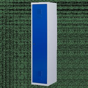 Brede lockerkast 1 deurs 1 delig - hang & leg - 180x40x50 cm - LKP-1051