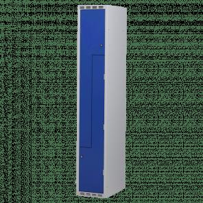 Lockerkast Z-deuren 2 deurs 1 delig - 180x30x50 cm - LKP-1101