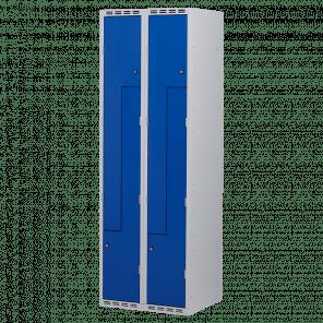Lockerkast Z-deuren 4 deurs 2 delig - 180x60x50 cm - LKP-1102