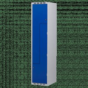 Brede lockerkast Z-deuren 2 deurs 1 delig - 180x40x50 cm - LKP-1151