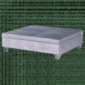 Stalen lekbak 440 liter - 40x132x122 cm - MOP-102