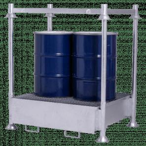 Stapelbare opvangbak - 440 liter - incl. top frame - MOP-110