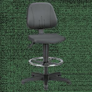 Werkplaatsstoel Unitec - glijders & voetenring - USP-103