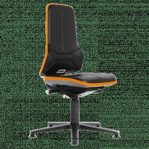 Werkplaatsstoel Neon - permanent contact - glijders - NSP-101