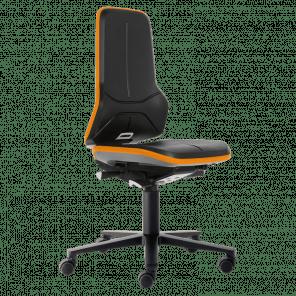 Werkplaatsstoel Neon - sychroontechniek - wielen - NSP-104