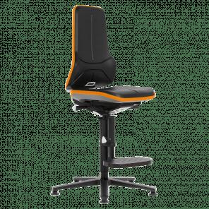 Werkplaatsstoel Neon - permanent contact - glijders & opstaphulp - NSP-105