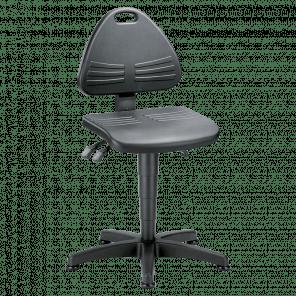 Werkplaatsstoel Isitec - glijders - ISP-101
