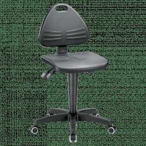 Werkplaatsstoel Isitec - wielen - ISP-102