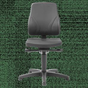 Werkplaatsstoel All-in-one - glijders - ASP-101
