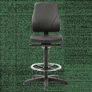 Werkplaatsstoel All-in-one - glijders & voetenring - ASP-103