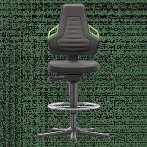 Werkplaatsstoel Nexxit - glijders & voetenring - XSP-103