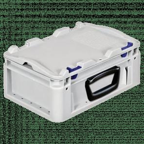 Kunststof stapelkoffer 1 handgreep - 300x200x135 mm  - KKP-403