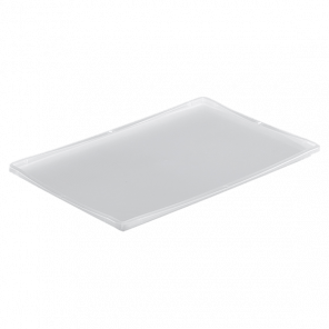 Oplegdeksel krat transparant - 600x400 mm - KKP-011