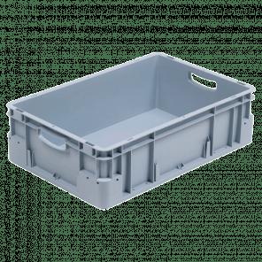Kunststof stapelkrat extra stevig - 600x400x180 mm - KKP-606