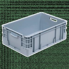 Kunststof stapelkrat extra stevig - 600x400x220 mm - KKP-607