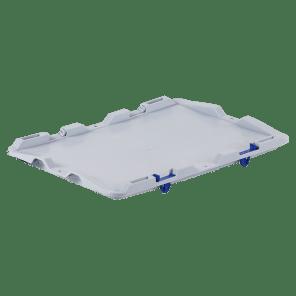 Scharnierend deksel - extra stevig - 400x300 mm - KKP-017