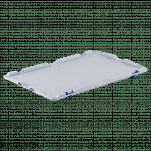 Scharnierend deksel - extra stevig - 600x400 mm - KKP-018