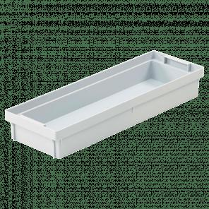 Inzetbak krat - 1/2 lengte - KKP-027