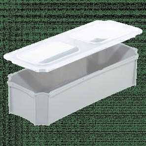 Deksel inzetbak krat 1/4 - breedte - KKP-038