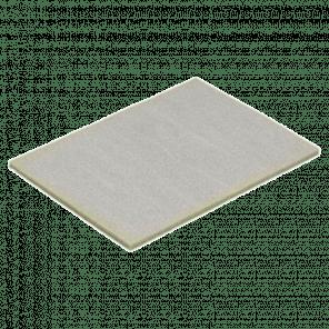 Schuim interieur deksel 310x210x10 mm - kunststof krat extra stevig - KKP-051