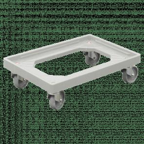 Dolly 600x400x175 mm - pp wielen - zachte ondergrond - KKP-056