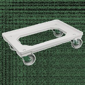 Dolly 610x410x175 mm - pp wielen - zachte ondergrond - KKP-058