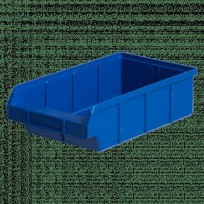 Kunststof magazijnbak nr. 63 - 184x320x92 mm - stapelbaar - KMP-101
