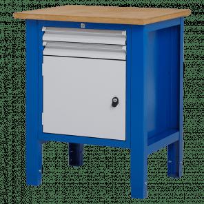 Werktafel - laden & deur - 72.5x62x85-90 cm - BWP-103