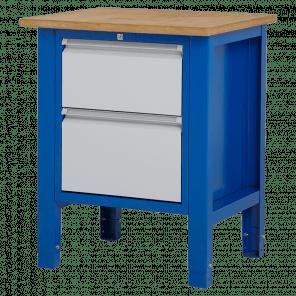 Werktafel - laden - 72.5x62x85-90 cm - BWP-106