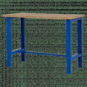 Werktafel - 124x62x85-90 cm - BWP-201