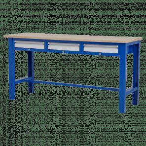 Werktafel - laden - 176.5x62x85-90 cm - BWP-302