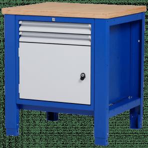 Werkbank - laden & deur - 80x70x85-90 cm - PWP-103