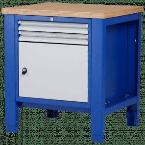Werkbank - laden & deur - 80x70x85-90 cm - PWP-104