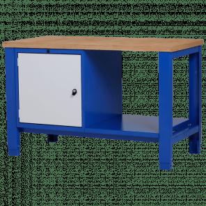 Werkbank - deur & legbord - 140x70x85-90 cm - PWP-219