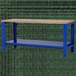 Werkbank - legbord - 200x70x85-90 cm - PWP-301