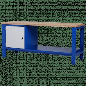 Werkbank - deur & legbord - 200x70x85-90 cm - PWP-319