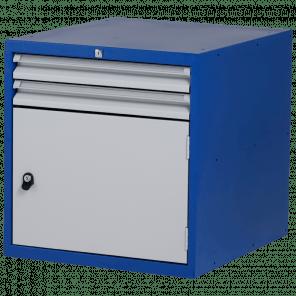 Werkbankblok - 2 laden & deur - PWP-015