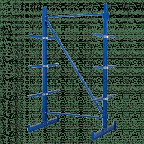 Draagarmstelling dubbelzijdig basismodel 225x135x108 cm - DSP-103