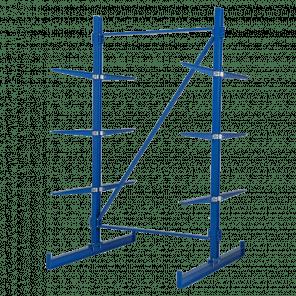 Draagarmstelling dubbelzijdig basismodel 225x135x148 cm - DSP-105