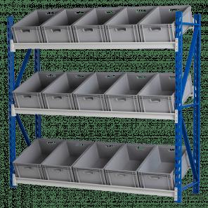 Bakkenstelling grootvakstelling basismodel 200x202x60 cm - GSP-103