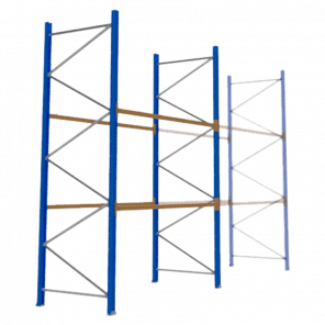 Palletstelling 400x270x113 cm - 2 niveaus - basismodel - PSP-109