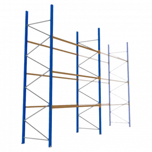 Palletstelling 500x360x113 cm - 3 niveaus - basismodel - PSP-127