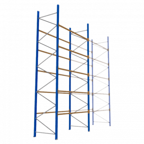 Palletstelling 600x270x113 cm - 5 niveaus - basismodel - PSP-137