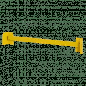 Aanrijdbeveiliging dubbele rij - 258 cm - ABP-102